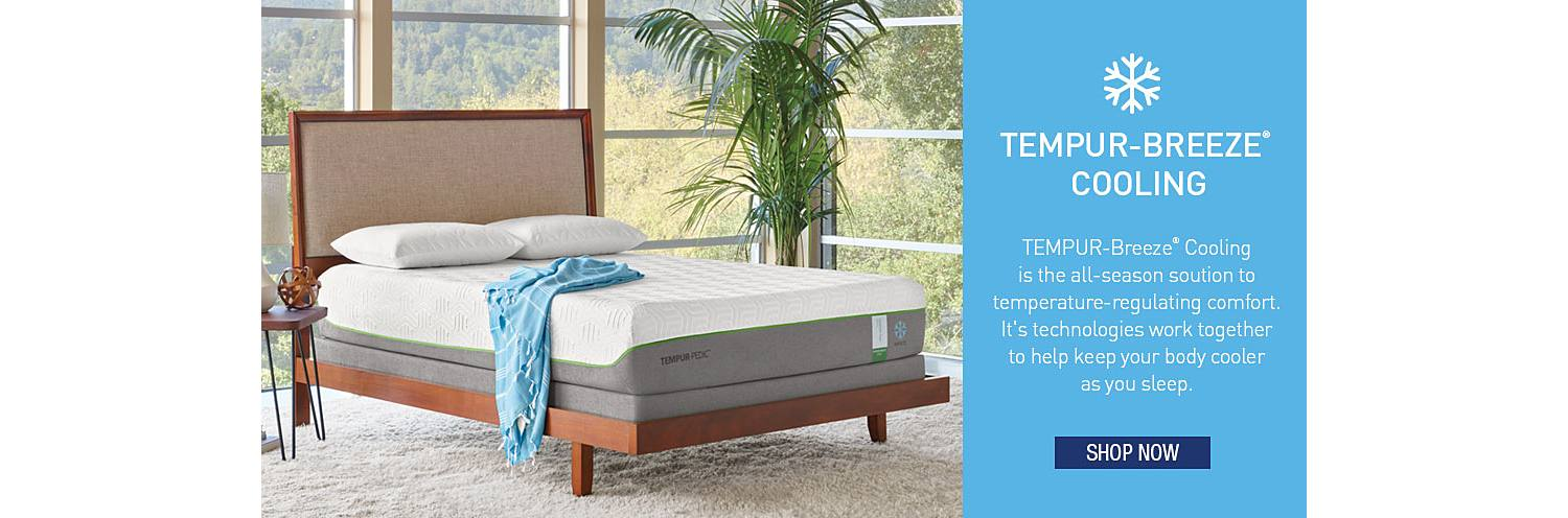 THE ALL-NEW TEMPUR-BREEZE COLLECTION
