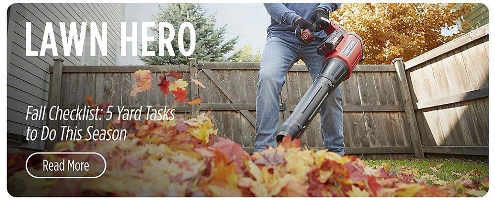 Lawn Hero   Article - Fall Checklist: 5 Yard Tasks to Do This Season