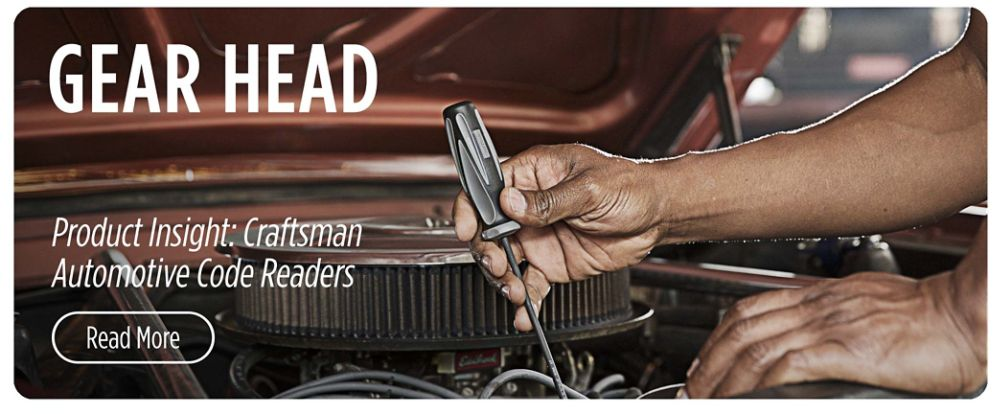 Gear Head | Product Insight: Craftsman Automotive Code Readers