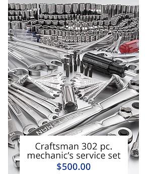302 pc mechanic service set