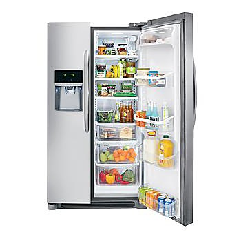 refrigerator showdown auto vs manual defrost sears. Black Bedroom Furniture Sets. Home Design Ideas