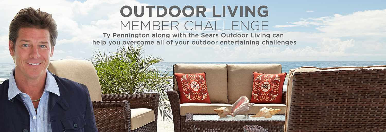 Ty Pennington Outdoor Living Celebrity Challenge