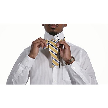 How to tie a bow tie tying a bow tie sears tie later alt ccuart Images