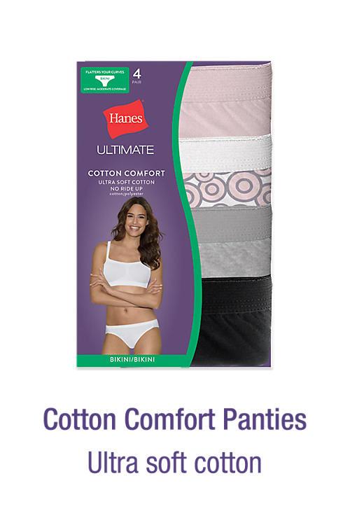Shop Cotton Comfort Panties