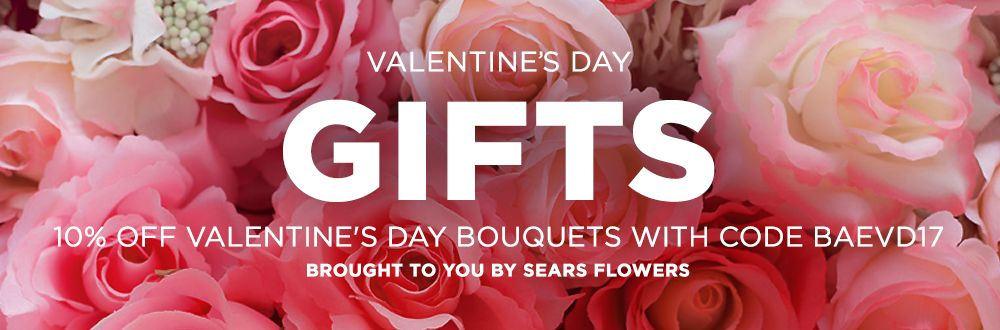 Valentine's Day bouquets offer