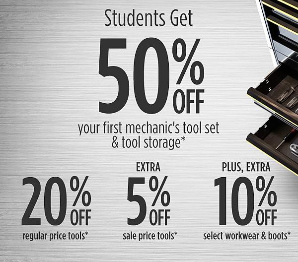 Student Discount Program