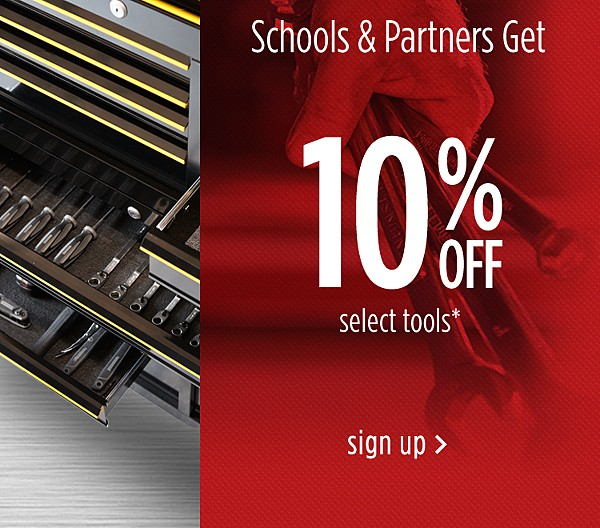 Schools & Partners Discount Program