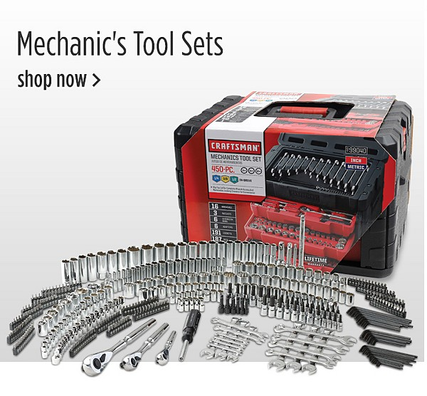 Sears has a brand new program offering 20% Off Automotive Tools and Tool Sets for students in Vocational and Technical school. All you have to do is show a valid student ID and they will give you the discount. The 20% off discount can even be used on specialty tools, such as multimeters, OBD scanners, brake tools, etc.