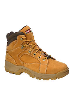 Men's Leather Work Shoes & Boots