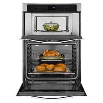 Combination Wall Oven Range with Microwave