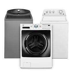 Sears will help you find a washer to knock out load after load and have your clothes looking and smelling great. With the right washing machines, dryers and other laundry machines, you'll have your favorite outfits ready for the week ahead.