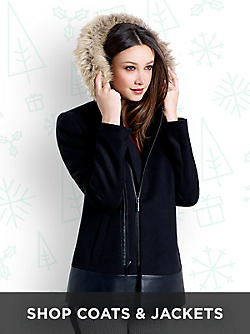 Shop Women's Coats & Jackets&#x3b; Fur, Wool, Puffer,