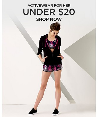 Activewear for her under $20