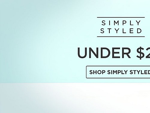 Simply Styled for her Under $20