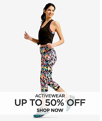 Up to 50% Activewear