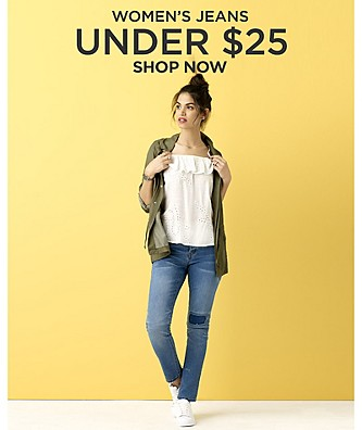 Women's Jeans Under $25