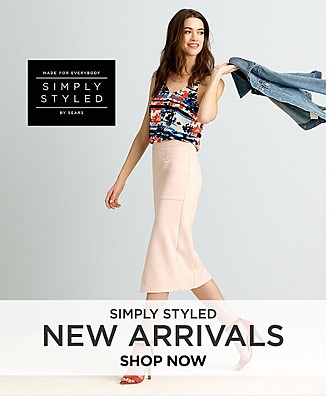 New Arrivals from Simply Styled