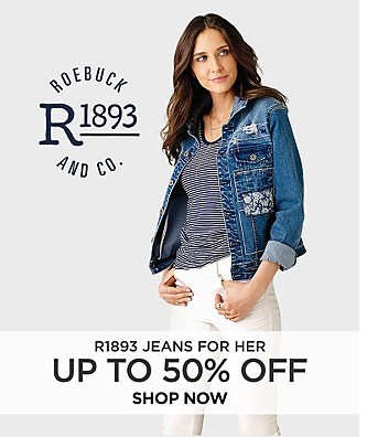 Save up to 50% off R1893 jeans for her