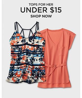 Tops under $15