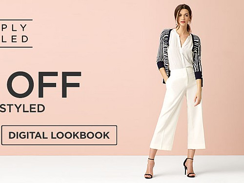 Simply Styled up to 50% off. Digital Lookbook.