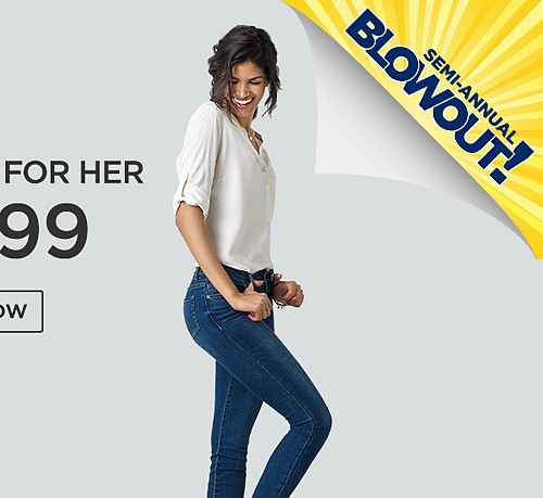 $14.99 R1893 Jeans for Her.  Shop Now