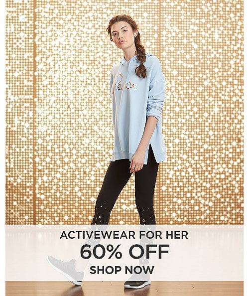 60% off Activewear for Her. Shop now
