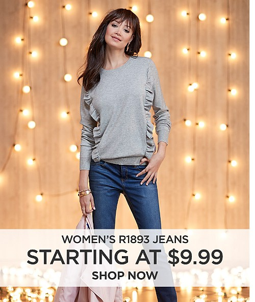 Women's R1893 Jeans starting at $9.99. Shop now