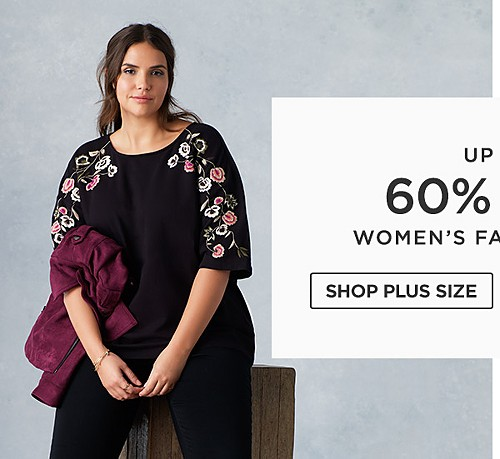 Up to 60% off Women's Fall fashion. Shop Plus Size