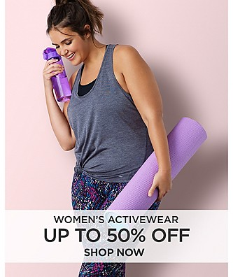Up to 50% off Women's Activewear