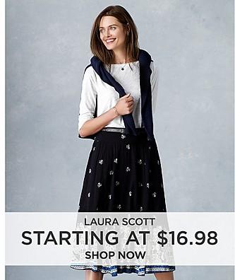 Laura Scott Starting at $16.98