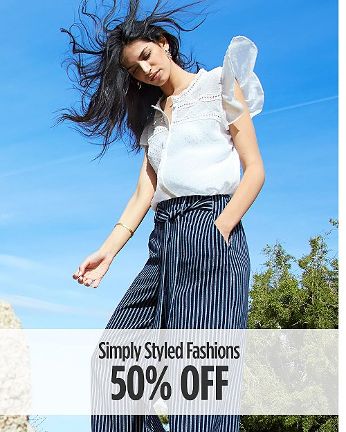 50% off Simply Styled Fashions
