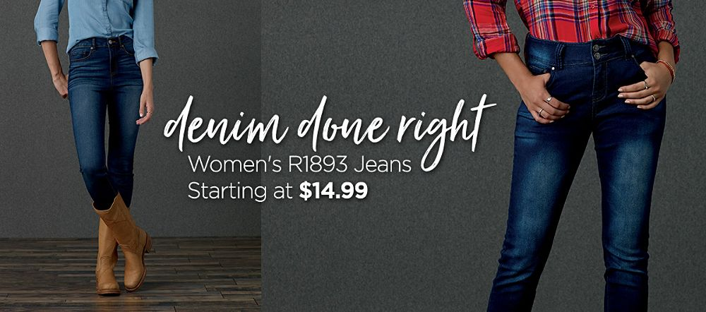 Women's R1893 Jeans Starting at $14.99