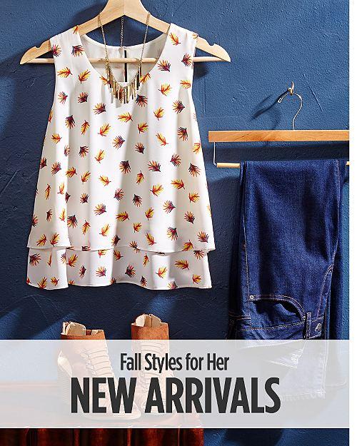 Shop New Women's Fall Arrivals!