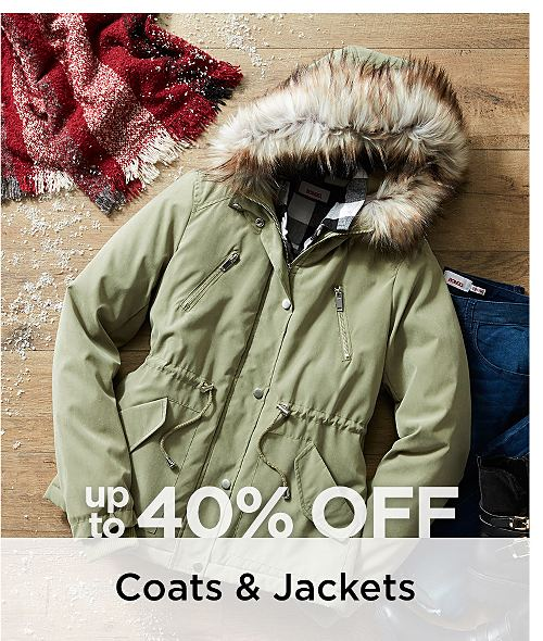 Up to 40% Off Women's Coats & Jackets. Shop Now