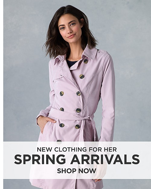 New Spring Arrivals. Shop now