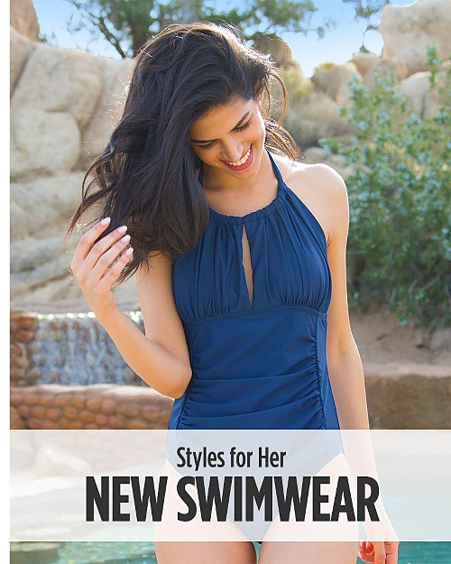 New Swimwear for Her. Shop now
