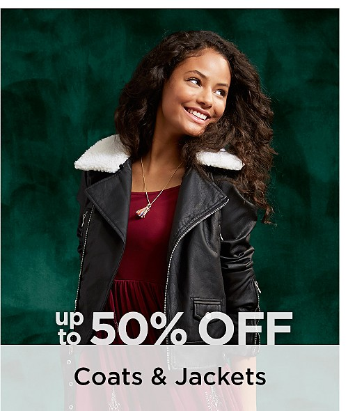 Up to 50% Off Women's Coats & Jackets. Shop Now