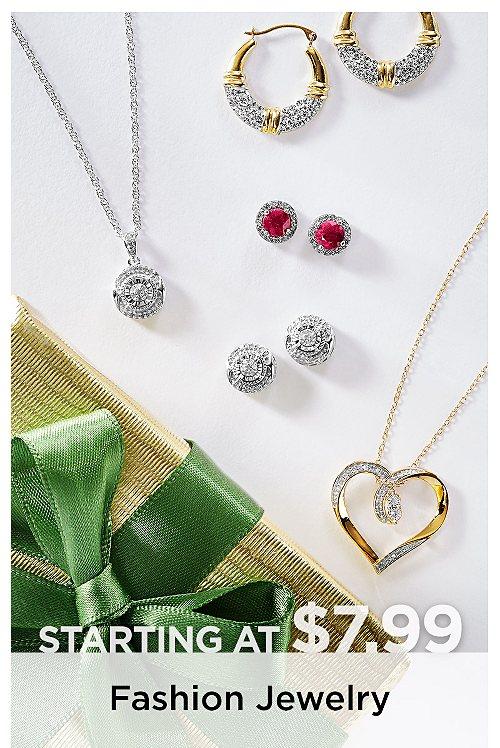Fashion Jewelry Starting at $7.99