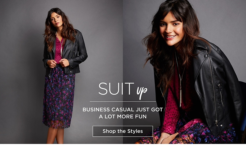 Suit Up! Business casual just got a lot more fun