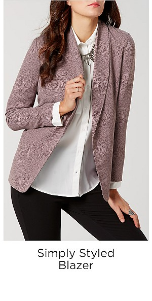 Simply Styled Women's Blazer