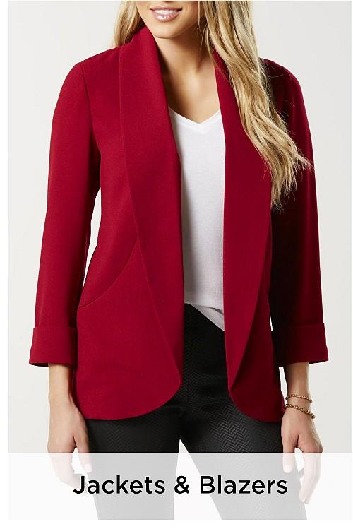 Women's Jackets & Blazers