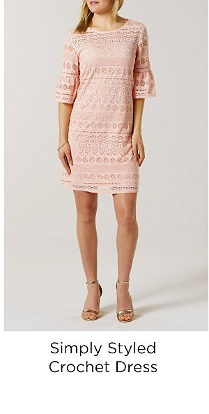 Simply Styled Women's Crochet Dress
