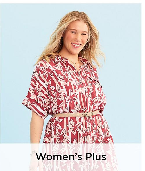 5764b215e Shop New Arrivals · Women's Plus Clothing