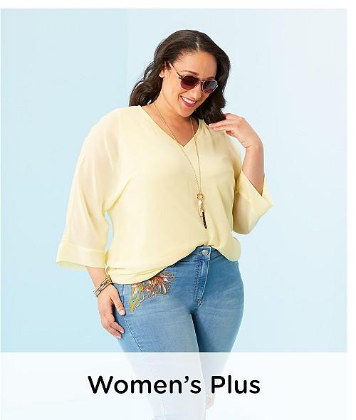 Women's Plus Clothing