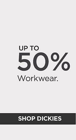 Up to 50% off Workwear. Shop Dickies