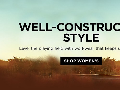 Well-Constructed Style. Level the playing field with workwear that keeps up with you.