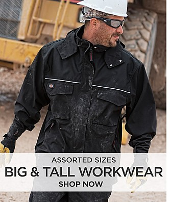Assorted Sizes Big & Tall Workwear