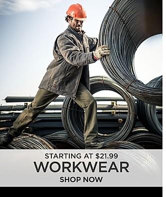 Work Pants Starting at $21.99