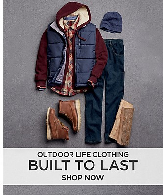 Built to Last. Outdoor Life Clothing