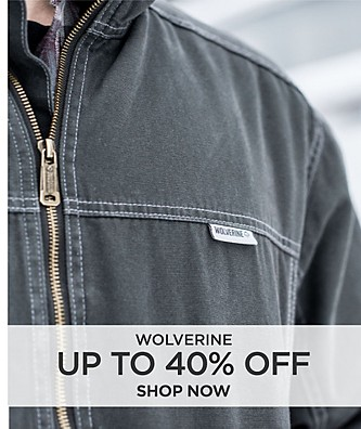 Save up to 40% off Wolverine. Shop Now.